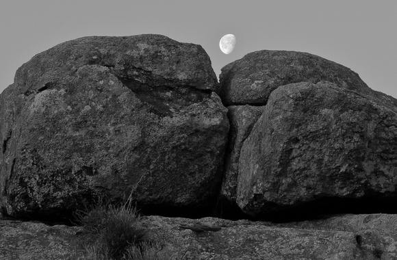 Moonrise Over Granite II